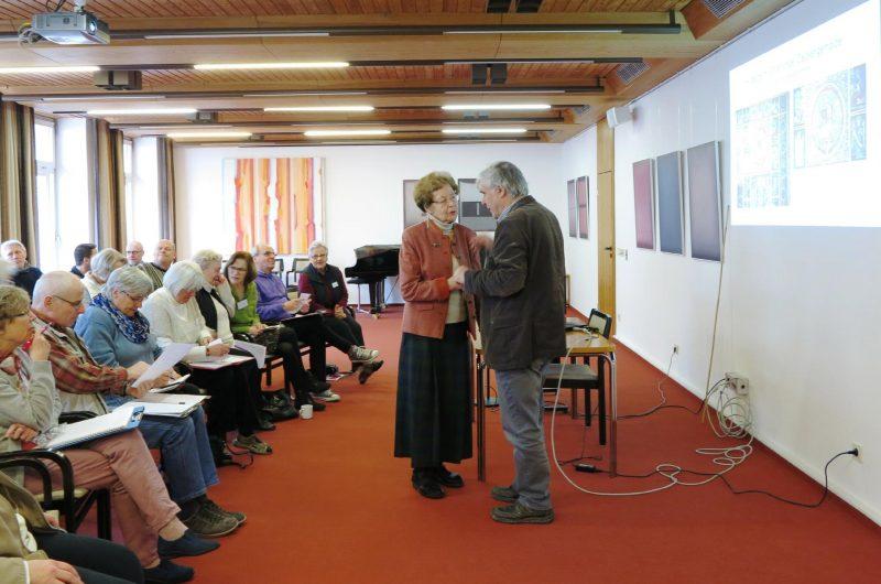 Dr. Anna Ulrich im Gespräch mit  Dr. Arnd Friedrich