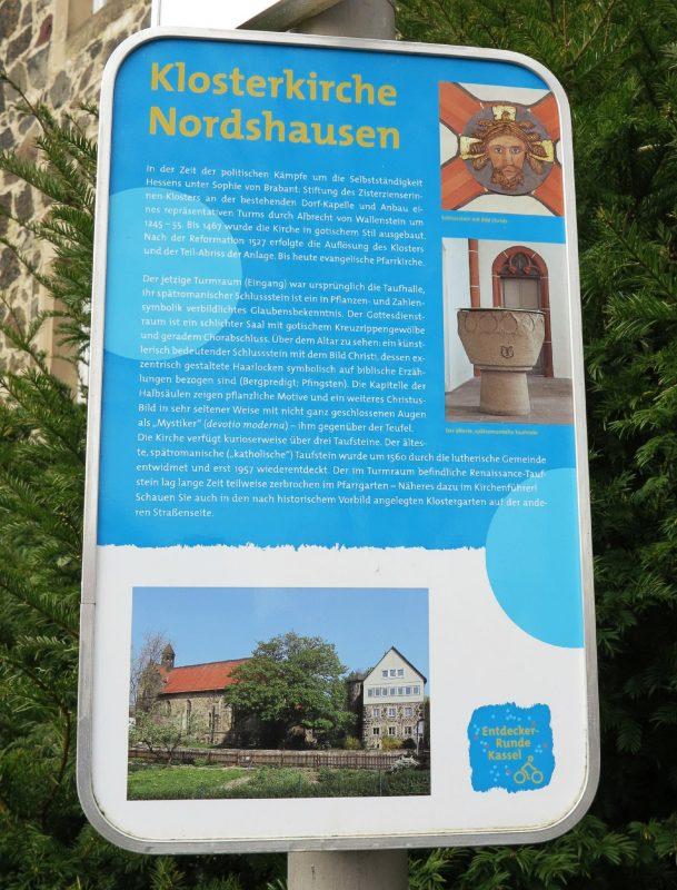 Exkursionsziel: Klosterkirche Nordshausen