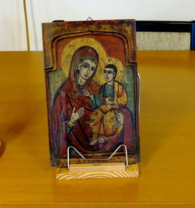 Dr. Heinrich Michael Knechten referiert u.a. über die Bedeutung der Ikonen in der Orthodoxie