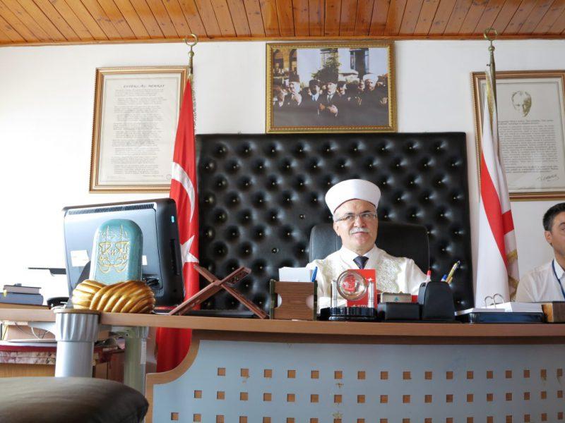 Treffen mit dem Mufti von Zypern