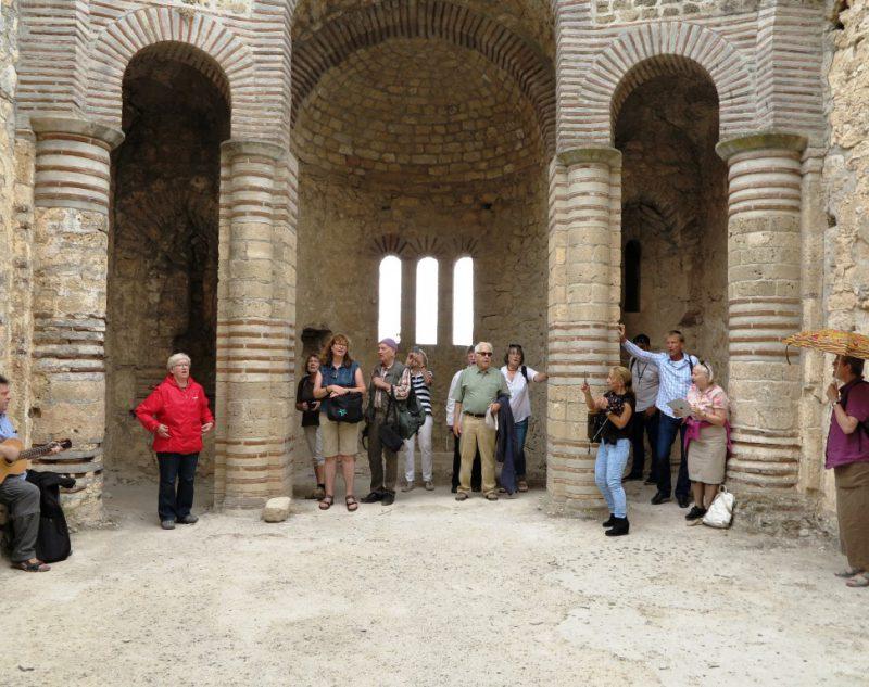 St. Hilarion Reste einer byzantinischen Kirche