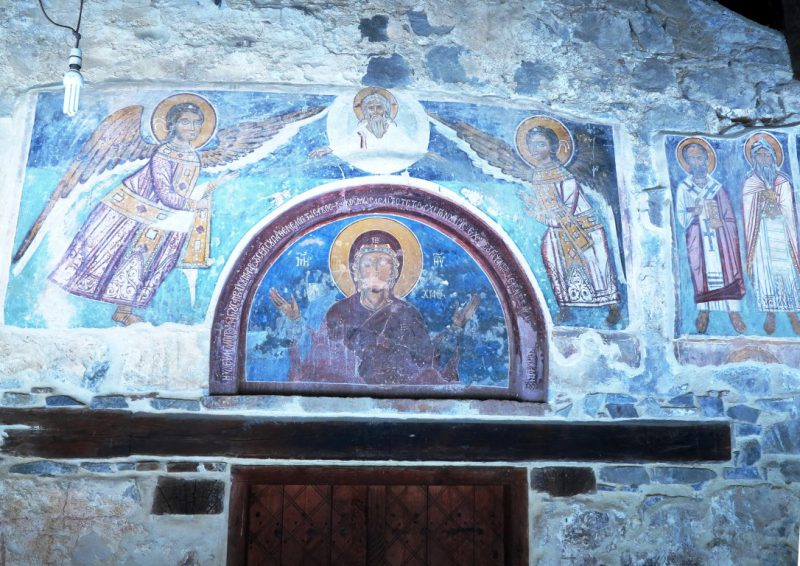Scheunenkirche Panagia Arakiotissa (Lagoudera)