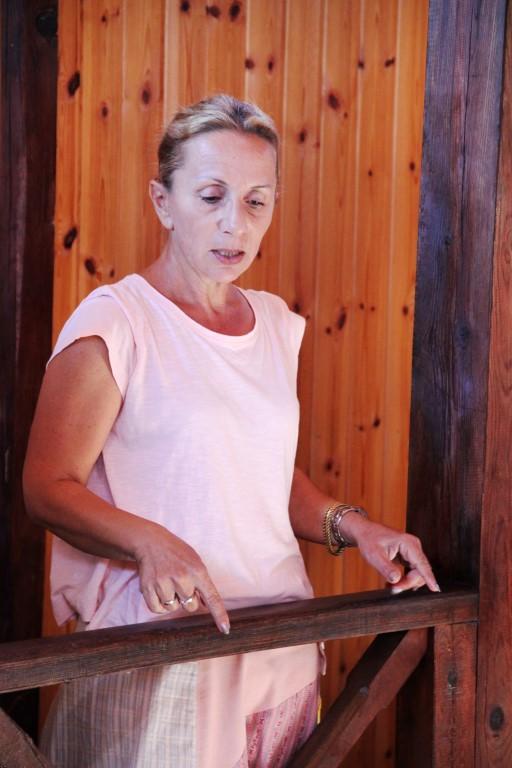 Reiseleiterin Frau Altmann