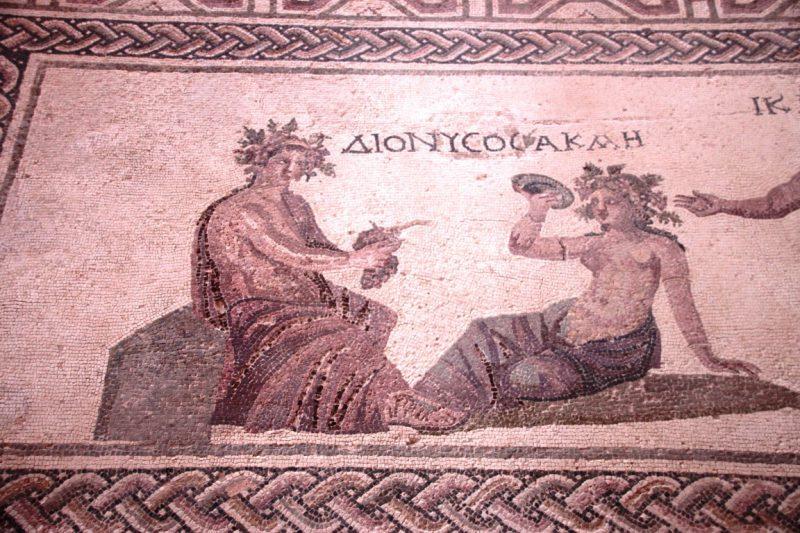 Dionysos-Mosaik