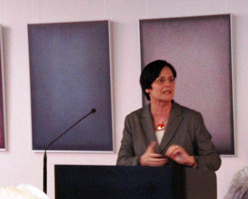 Ministerpräsidentin a.D. Christine Lieberknecht bei ihrem Referat