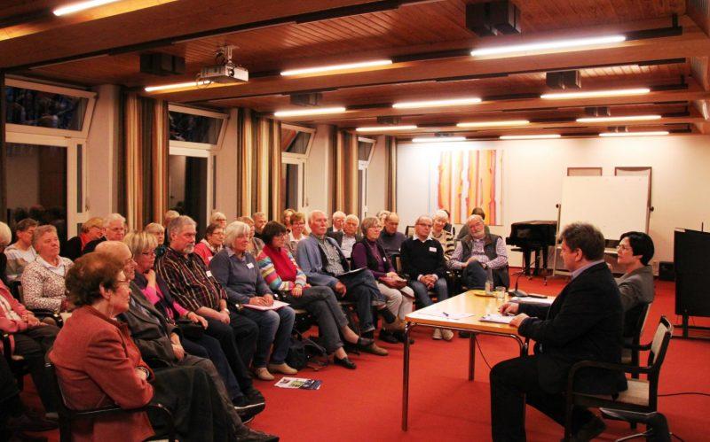 Diskussion mit Christine Lieberknecht und den Gästen