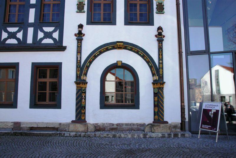 Vor dem Lutherhaus