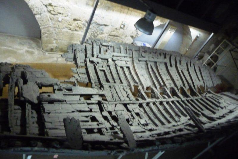 Schiffswrack aus dem 4.Jh. v.Chr.