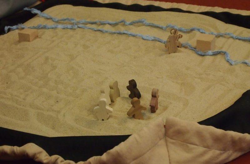 Im Sand erzählt - eine Glaubensgeschichte