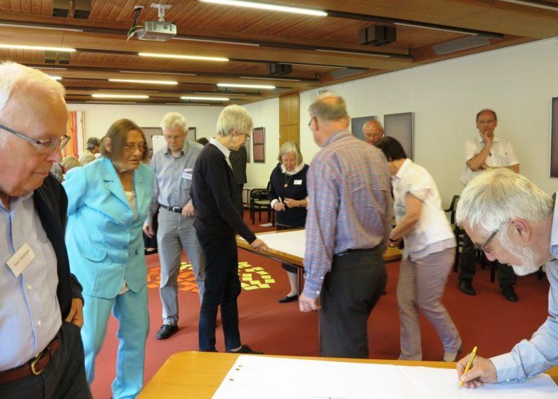 Aktive Teilnehmer beim Workshop