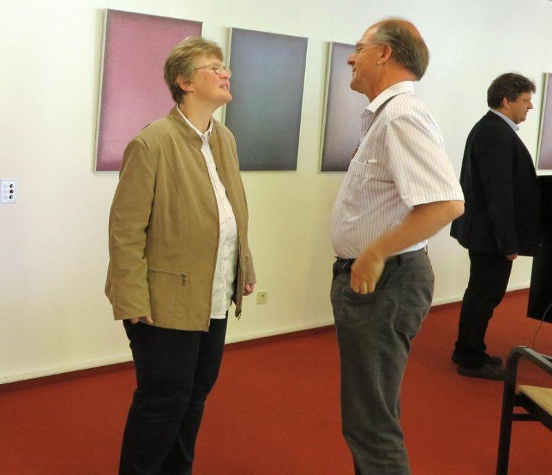 Im Gespräch: Dorothee Mann und Andreas Knapp
