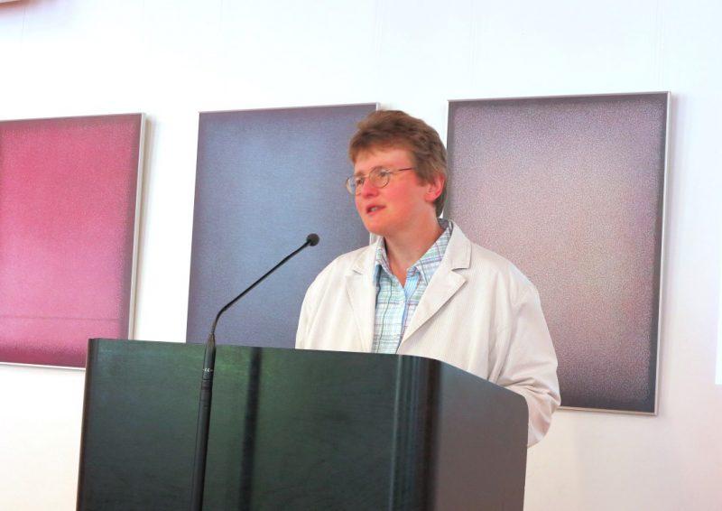 Lic. theol. Dorothee Mann, Die Hegge,  begrüßt die Teilnehmer der Tagung