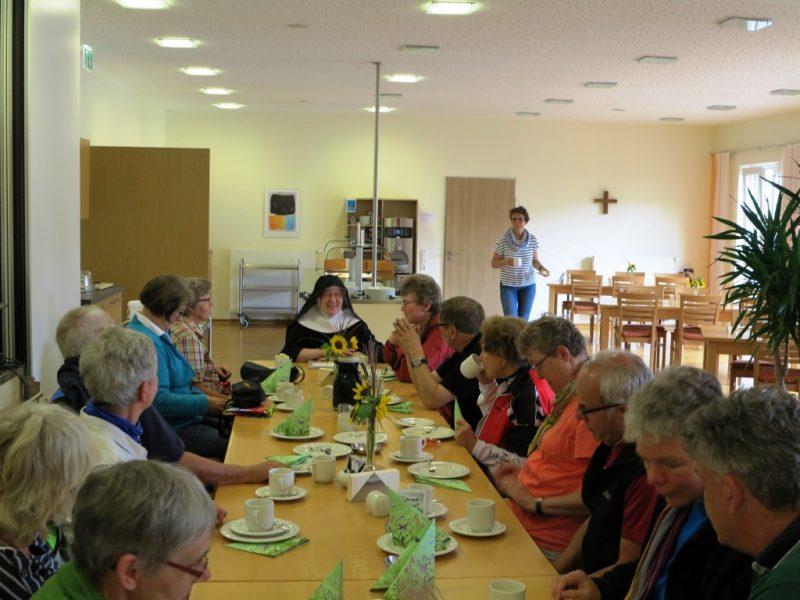 Benediktinische Gastfreundschaft im Kloster Herstelle