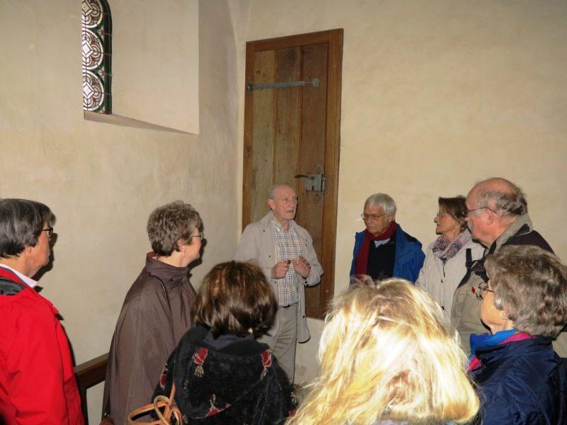 Informative Führung in der Kirche durch Dieter Stumpe