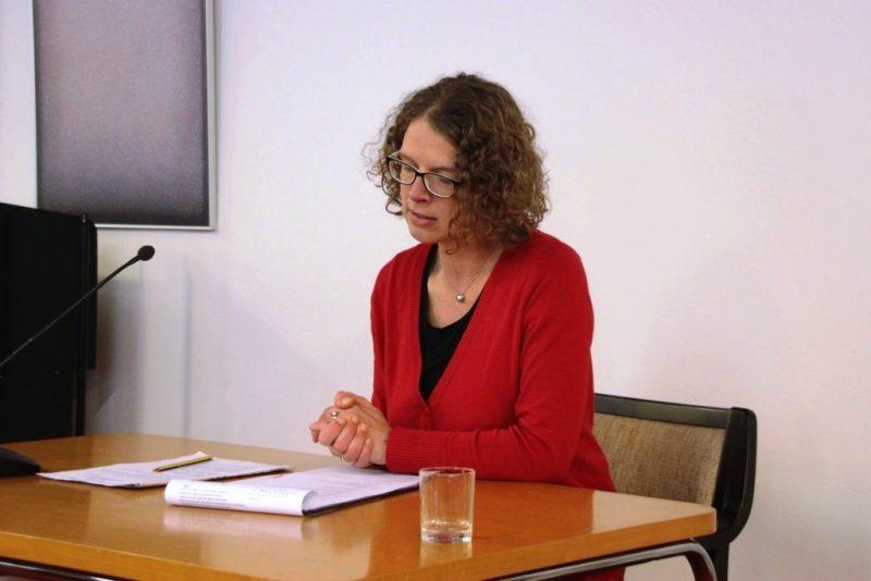 Dr. Anne Kirsch im Schlussgespräch