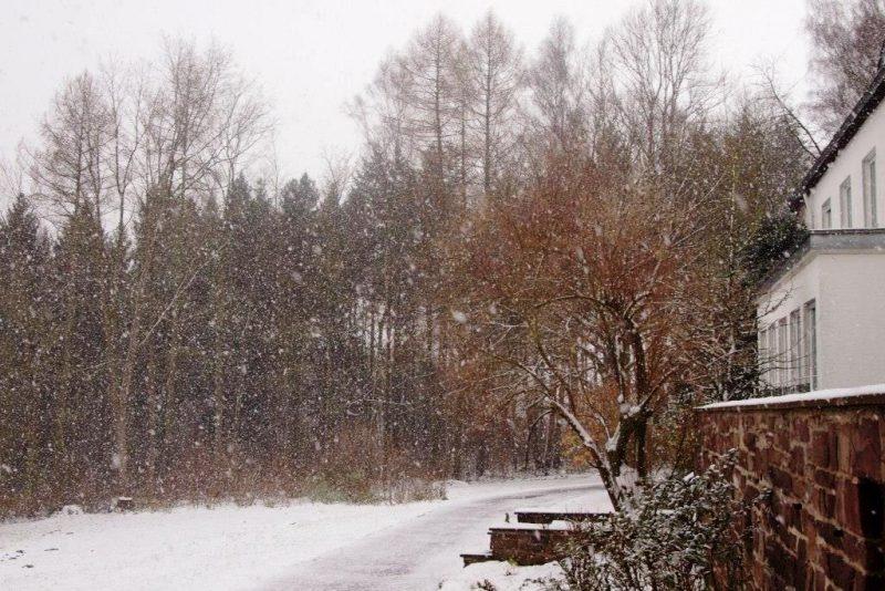 Es schneit weiter....