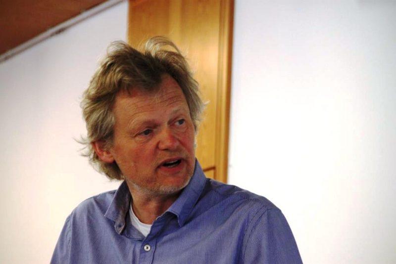 Dr. Magnus Schlette, Heidelberg, beim Vortrag
