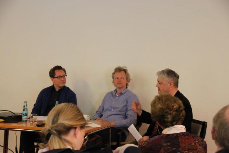 Podium Markus Kleinert, Magnus Schlette, Holger Brülls