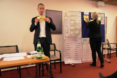 """Dirk Käser und Nicole Barth faszinieren mit ihren """"Wortspielen"""""""