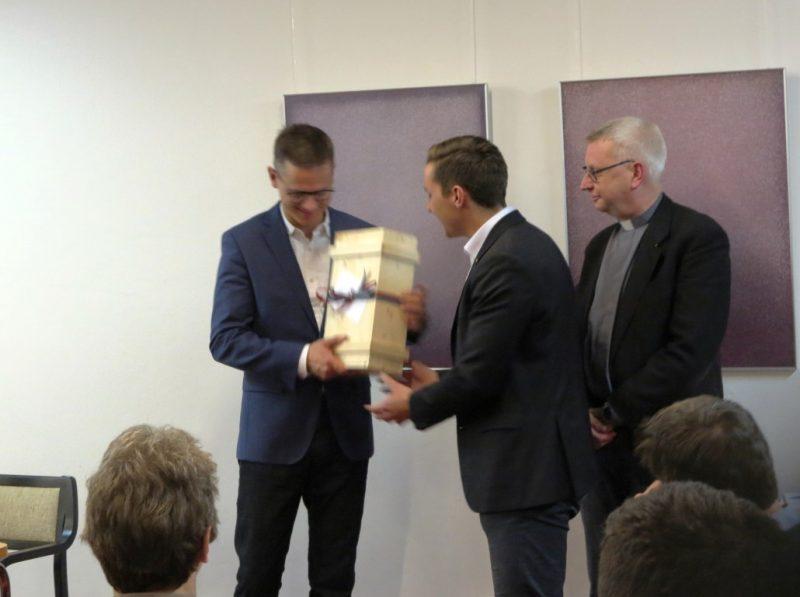 Die Markomannen bedanken sich bei Dr. Carsten Linnenmann