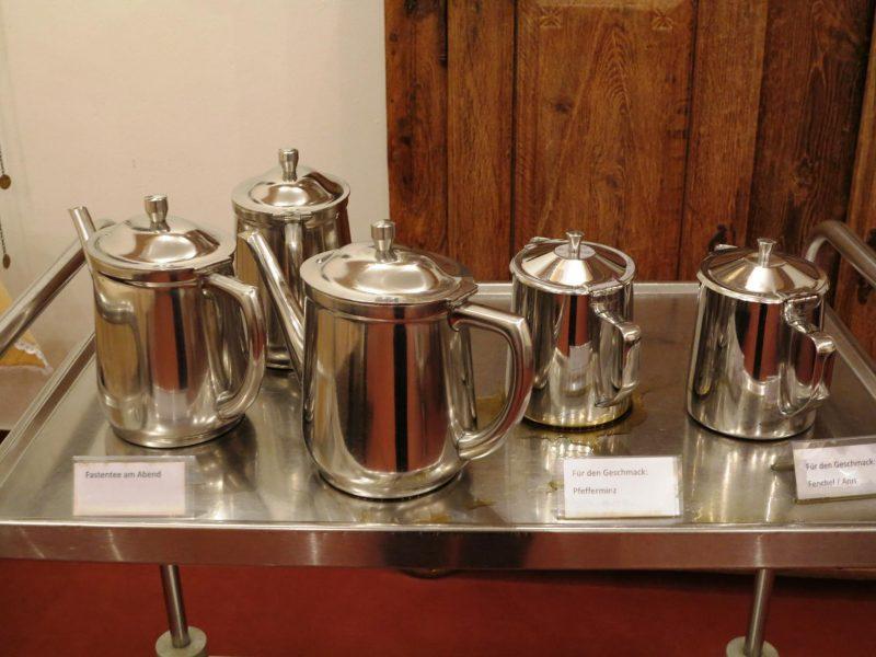 Reiche Tee-Auswahl