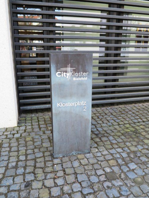 Eingang zum Citykloster Bielefeld