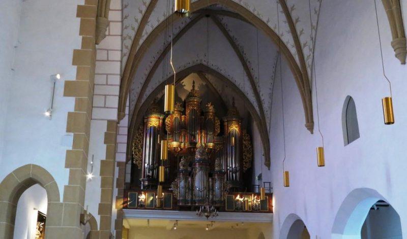 Orgelprospekt  der Jodokuskirche