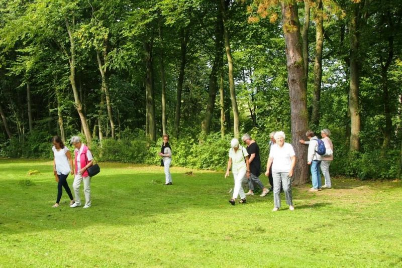 Spurensuche im Hegge-Park