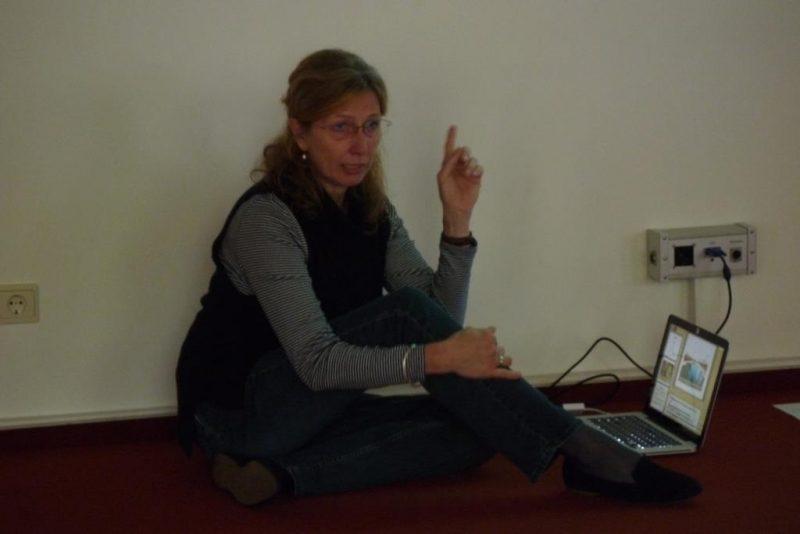 Die Hauptreferentin Amrai Hoischen