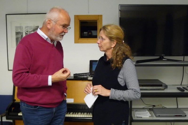 Johannes Klauke und Amrai Hoischen im Gespräch