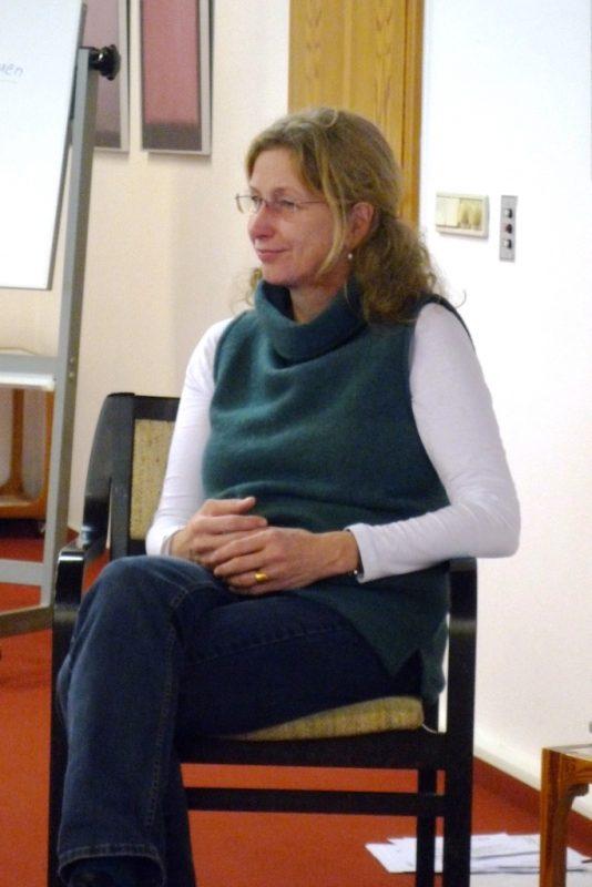 Die Referentin Amrai Hoischen