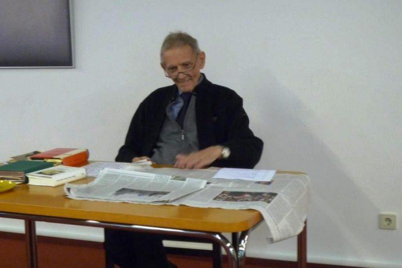 Prof. Kösters referiert zu Menschenwürde aus der Sicht der Bibel