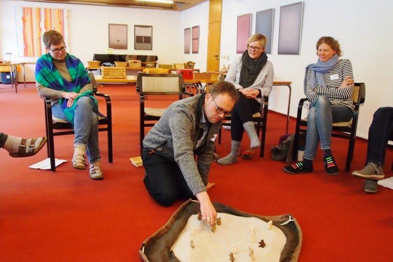 Godly-Play-Fortbildner - Christiane Zimmermann-Fröb und Markus Rischen