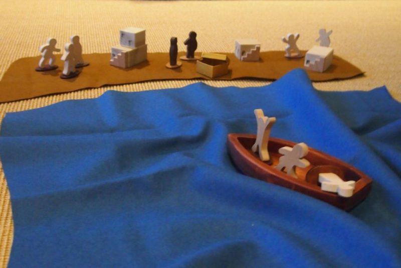 Godly-Play: Jesus hilft im Sturm