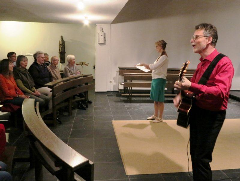 Einladung zum gemeinsamen Singen