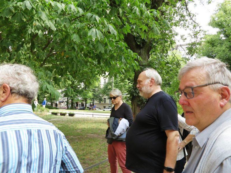Zionskirche: Führung durch Thomas Beckmann