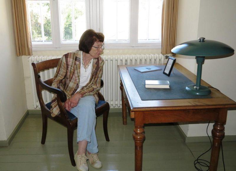 Schreibtisch von Dietrich Bonhoeffer