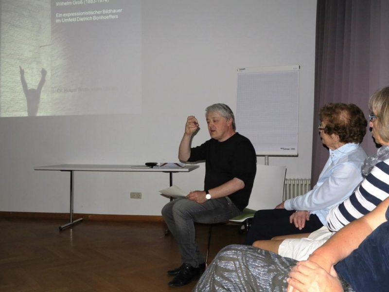 Dr. Brülls über Wilhelm Groß