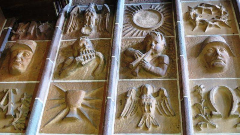 Martin-Luther-Kirche: Problematische Ikonographie