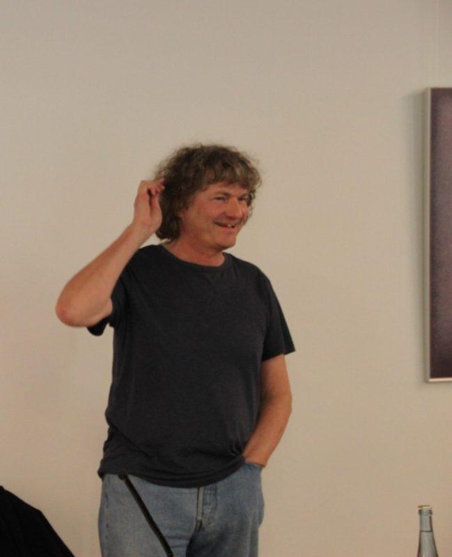 Sebastian Heindrichs beim Vortrag