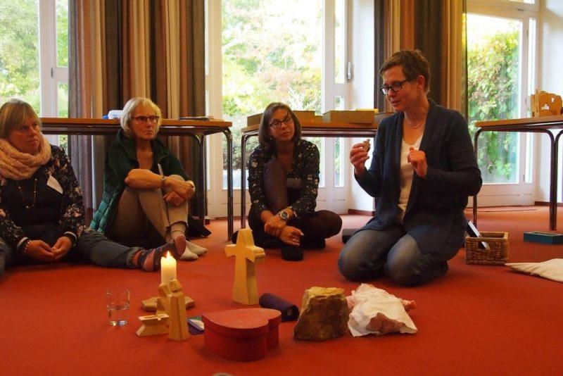 Präsentation einer liturgischen Handlung