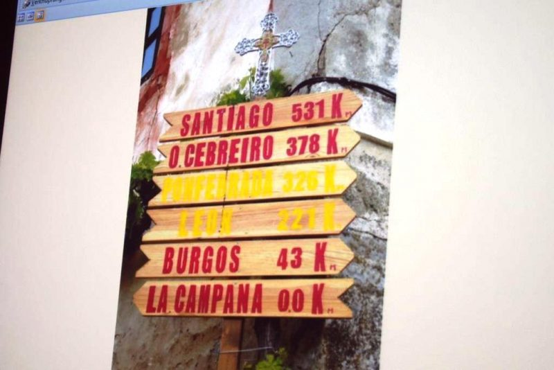 Auf dem Weg nach Santiago