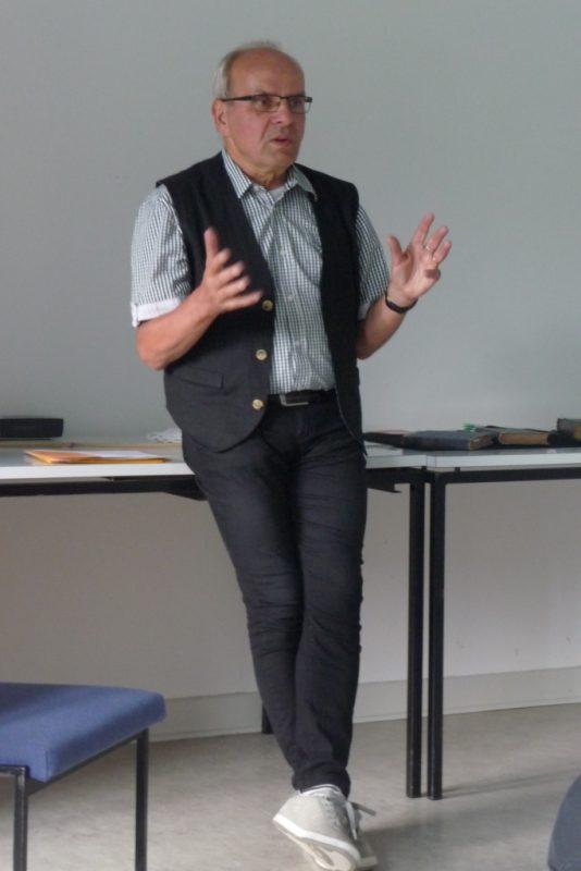Dr. Wolfgang Unger spricht über Annette von Droste-Hülshoff