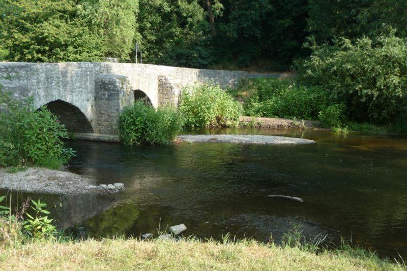 alte Brücke bei Brakel