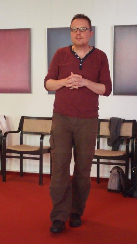 Der Theaterpädagoge Dieter Bolte