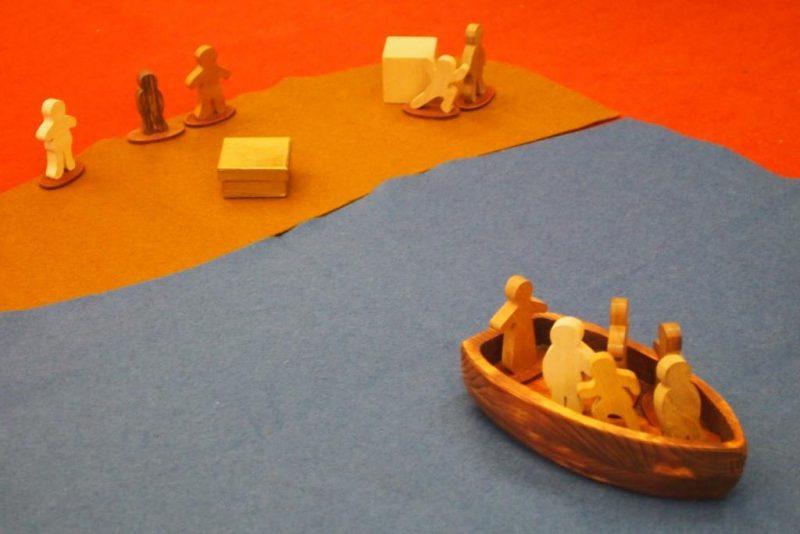 Gott im Spiel: eine Jesusgeschichte