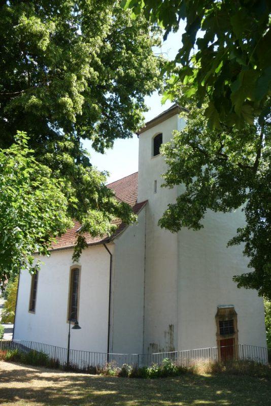 Pfarrkirche Fölsen - von NW