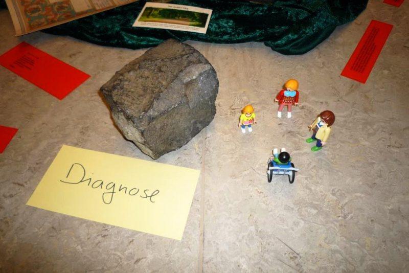 Die Diagnose trifft Familien wie ein schwerer Stein