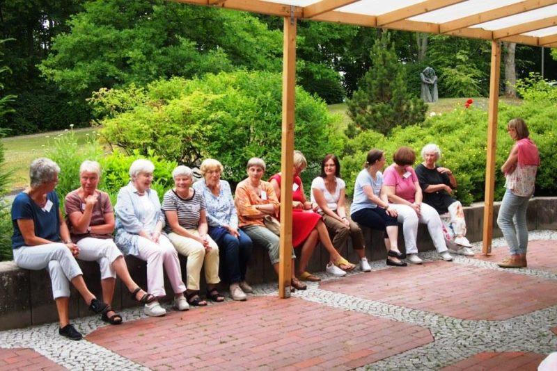 Ein interessierter Teilnehmerkreis