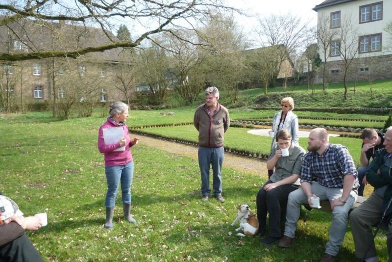 Erläuterungen zum Klostergarten